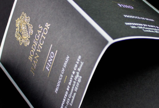 Design and artwork for special print finishes