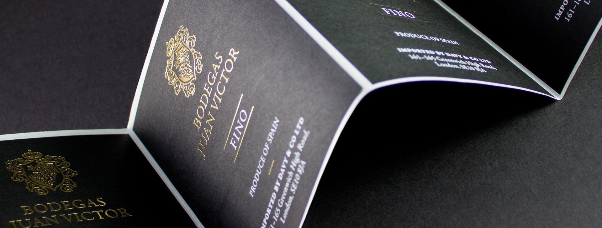Wine label design and print