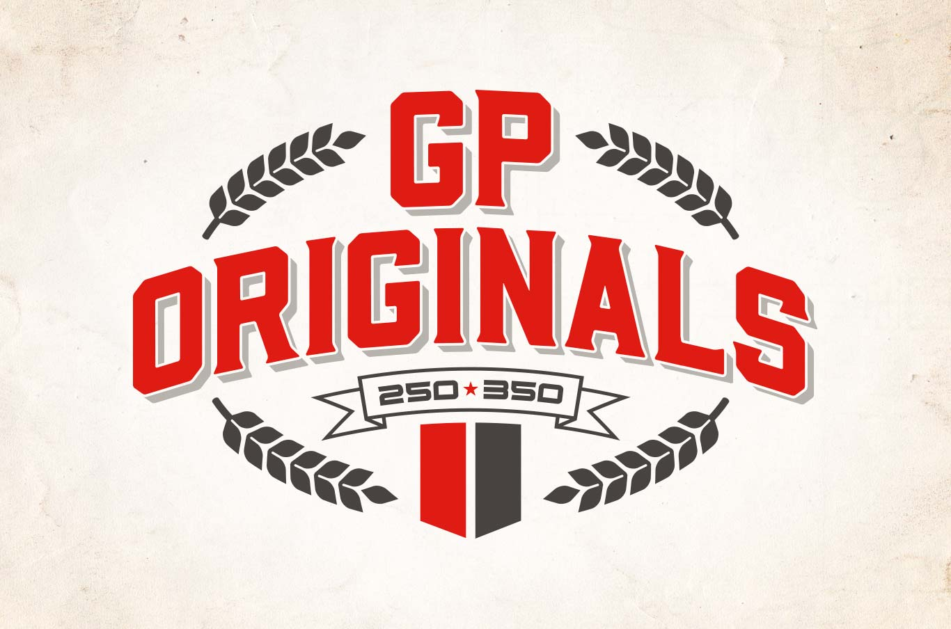 GP Originals logo design