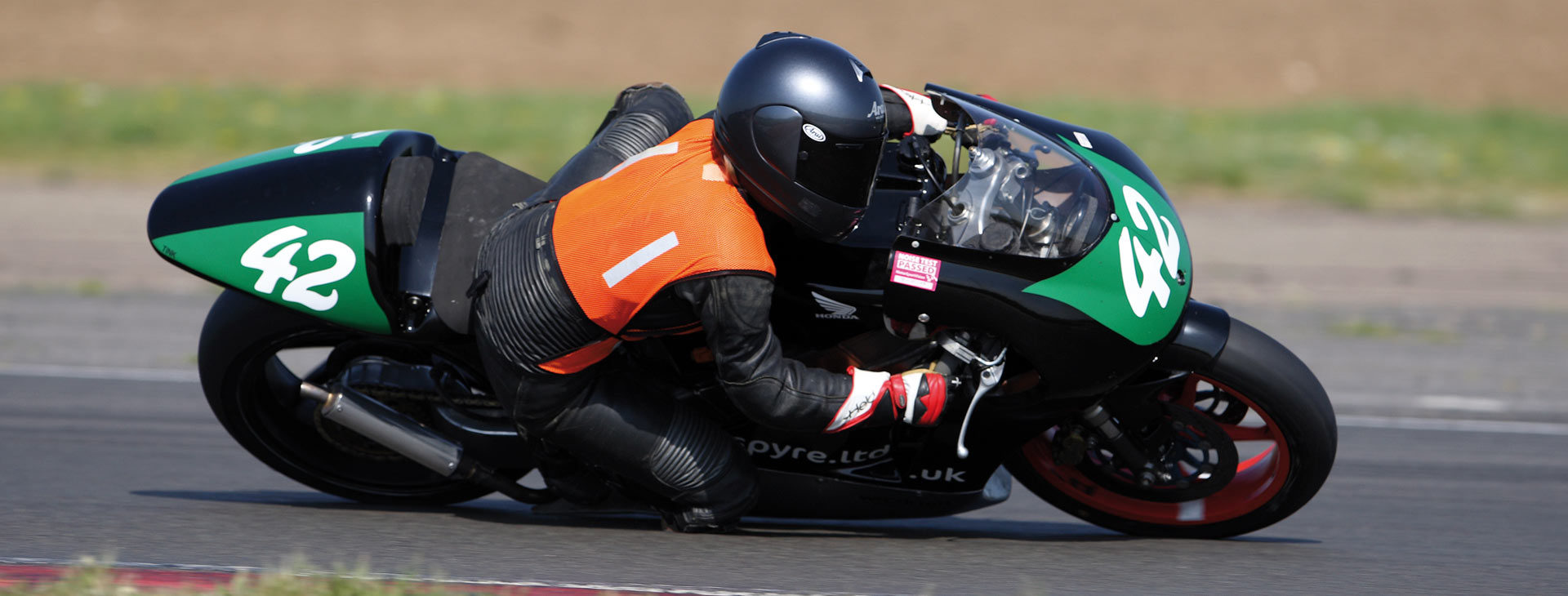 Sian's novice season on the RS250 Honda