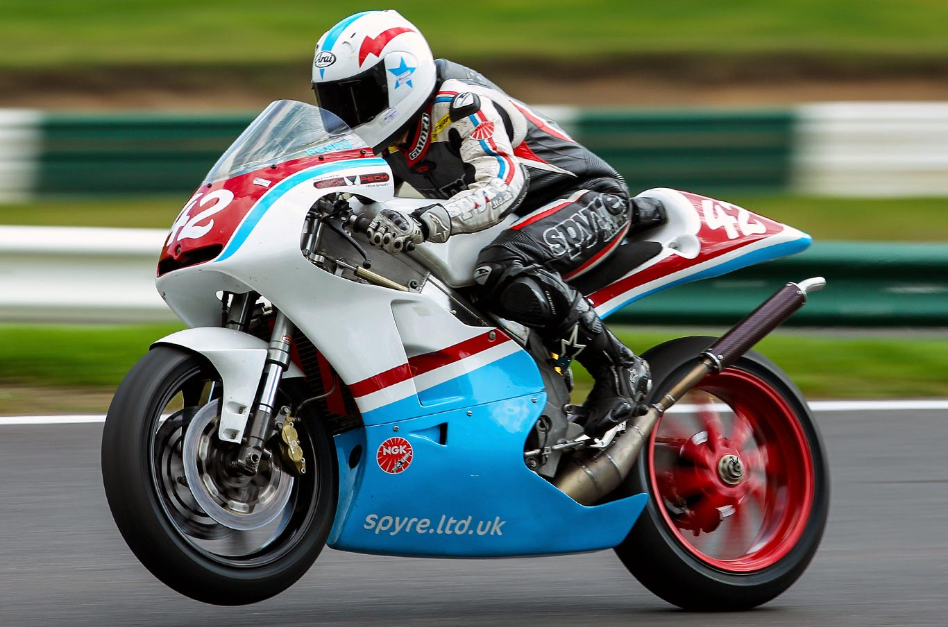 Honda RS250 at Cadwell Park