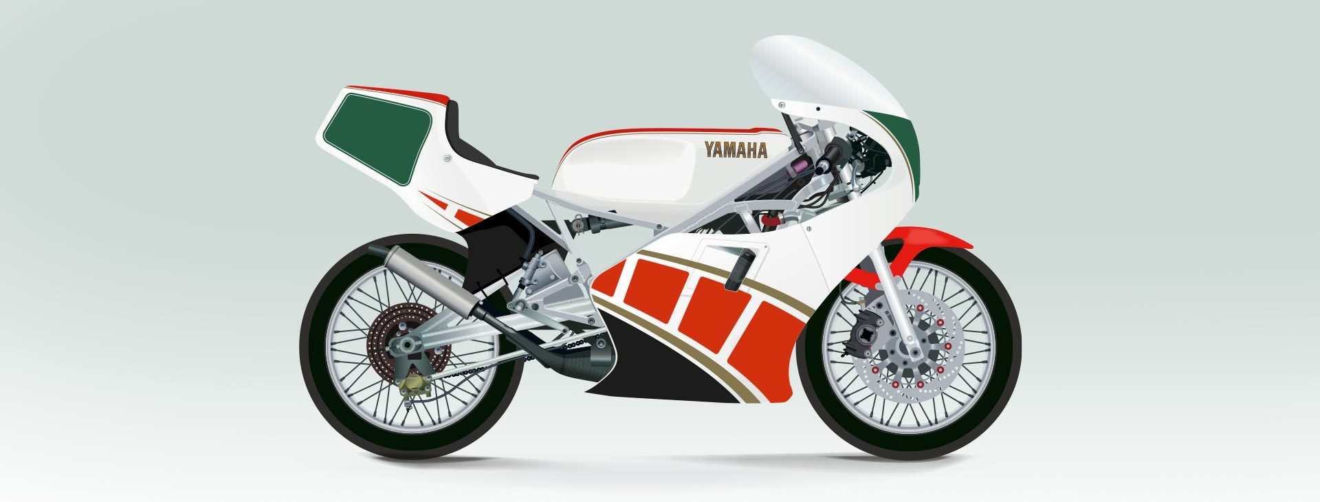 Spyre design for Yamaha TZ250