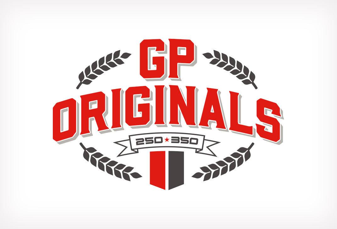 Motorcycle racing logo design