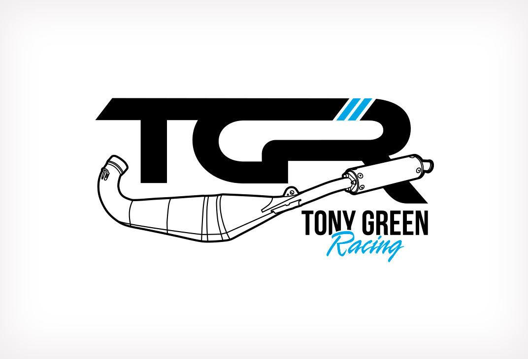 Logo design for motorcycle racing
