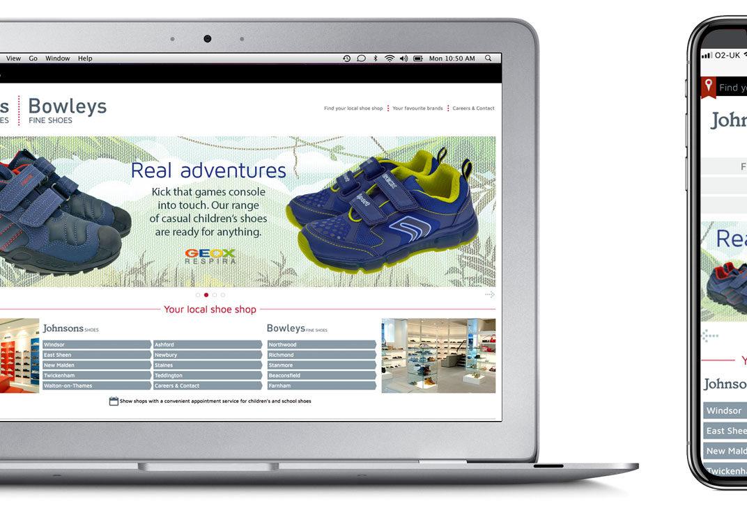 Wordpress theme for a shoe shop