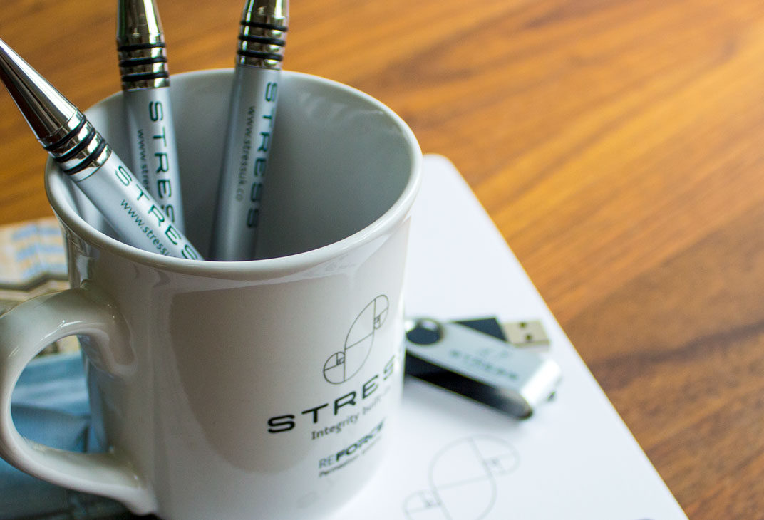 Branded products for Stress UK