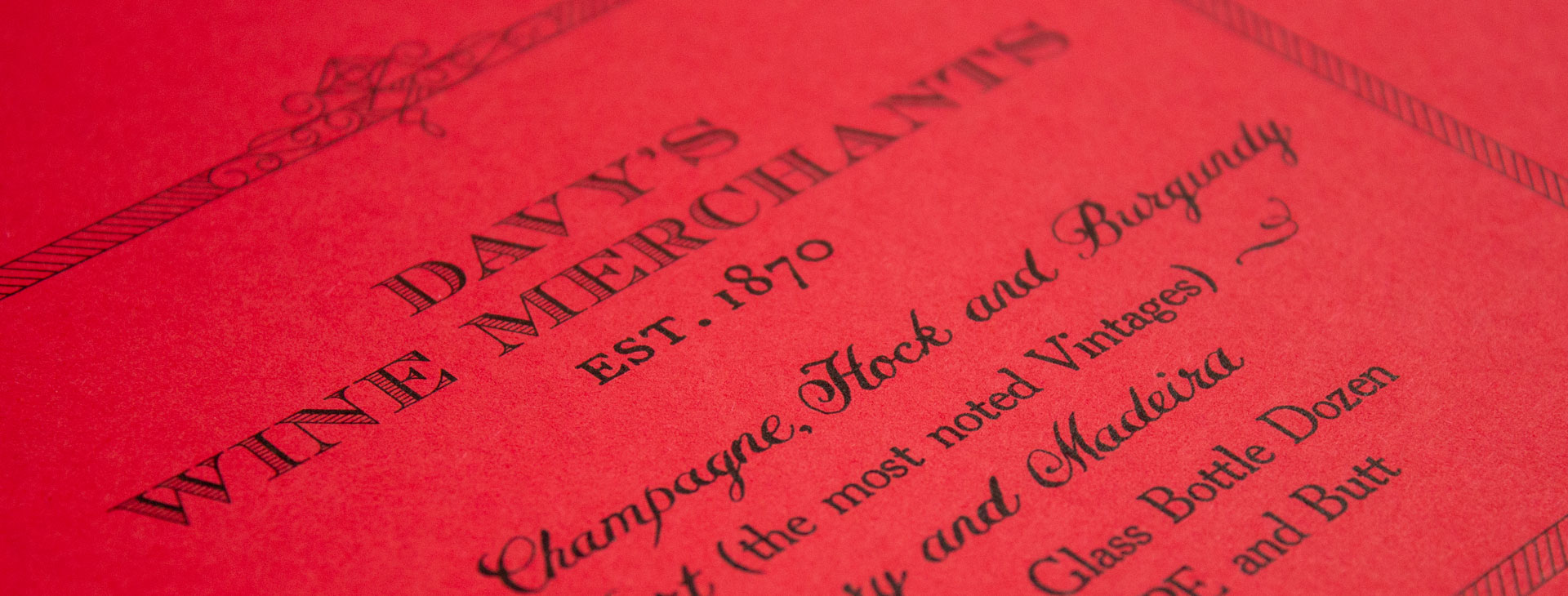 Handlettering on a luxury coloured paper stock