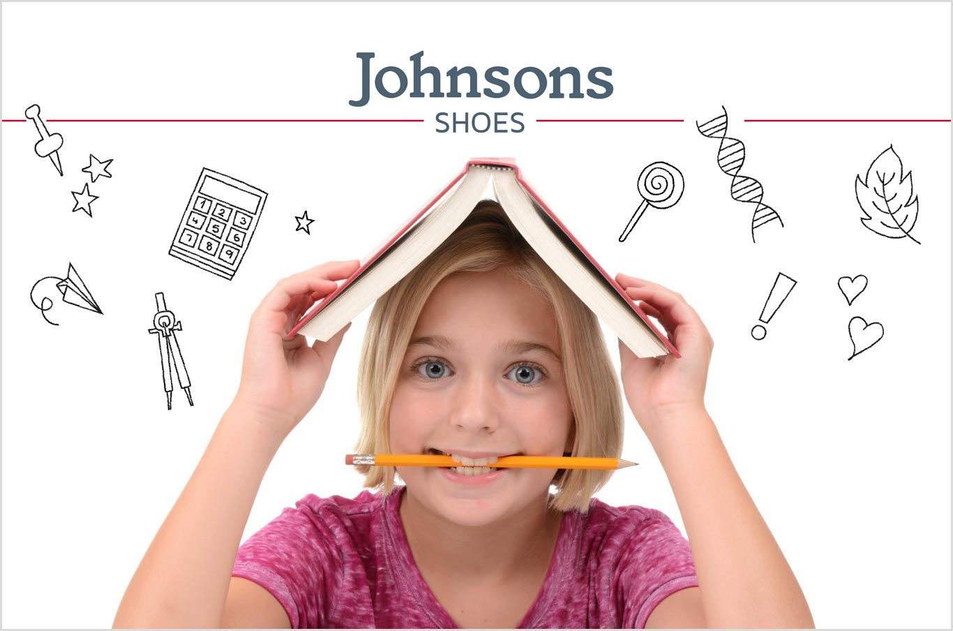 Back to School graphics for shoe shops in Bucks, Berks, Surrey and Middlesex