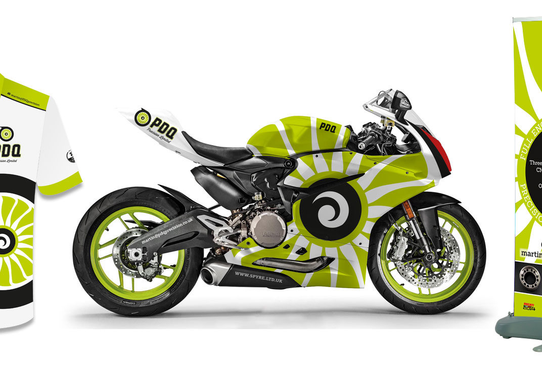 Motorcycle race graphics