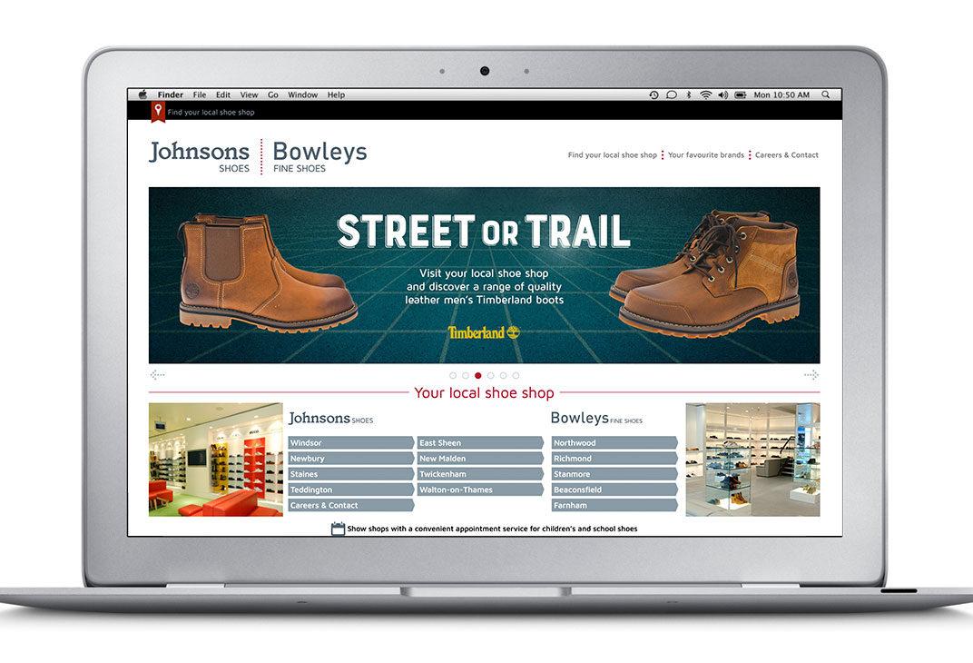 Wordpress theme for a high street retailer