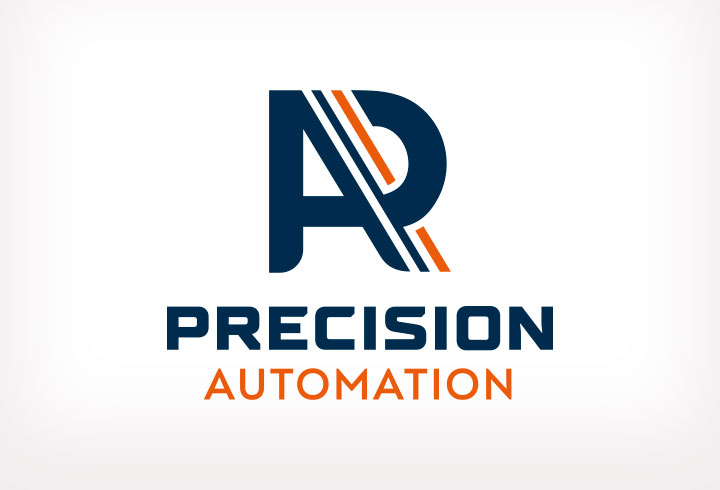 Logo design for the manufacturing industry – Precision Automation