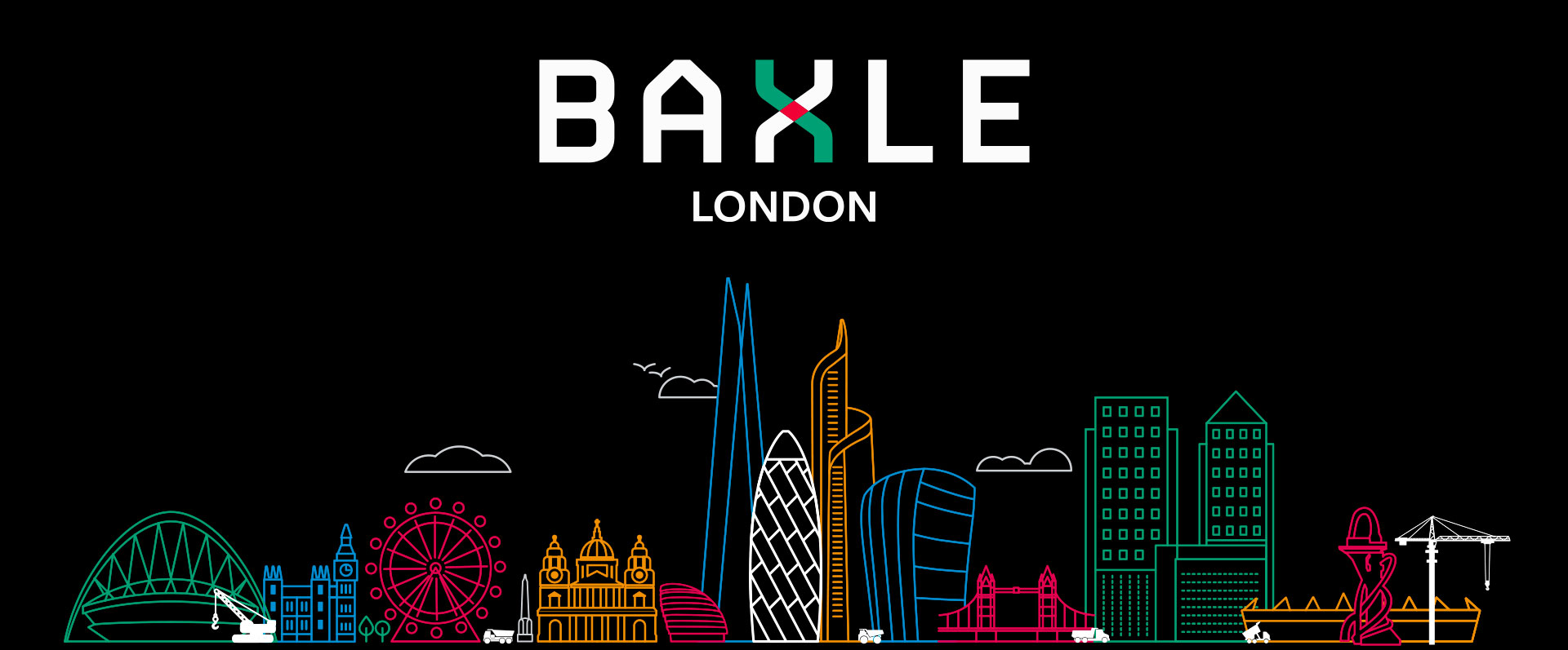 Baxle London branding for a heavy haulage company