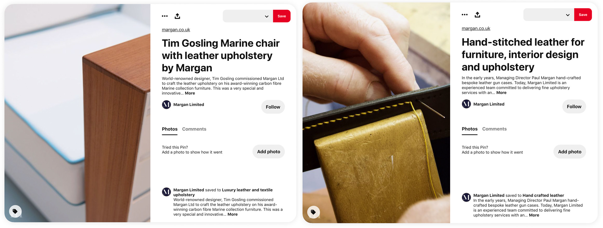 Social media management and design for Margan Limited